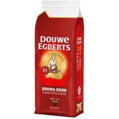 Cafea Douwe Egberts aroma rood, boabe, 500g
