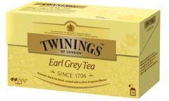 Ceai Twinings Earl Grey, negru, 25plicuri/cutie