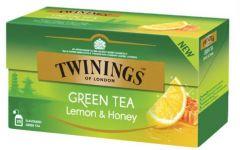 Ceai Twinings verde cu lamaie si miere, 25plicuri/cutie