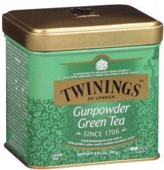 Ceai Twinings Gunpowder, verde, cutie metal, 100g