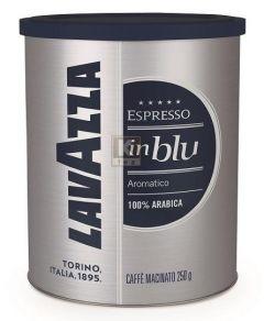 Cafea Lavazza inBlu Espresso, macinata, cutie metalica, 250g