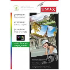 Hartie photo ink jet glossy A4, 200g, 25 coli/top, Tanex