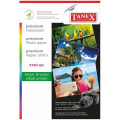 Hartie photo ink jet glossy A4, 240g, 20 coli/top, Tanex