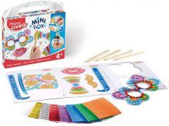 Set creativ, Stickere mozaic, Mini Box Maped