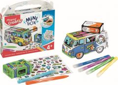 Set creativ, Jucarie carton, Mini Box Maped