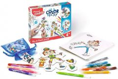 Set creativ, Puzzle, Color&Play Maped