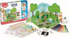 Set creativ, Gradina, Color&Play Maped