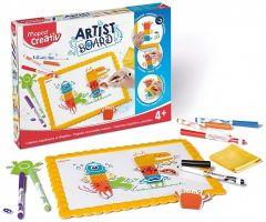 Set creativ, Monstrii, Artist Board Maped