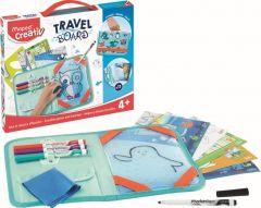 Set creativ, Animale, Travel Board Maped