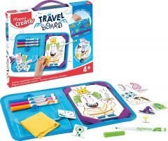 Set creativ, Cavaleri si printese, Travel Board Maped