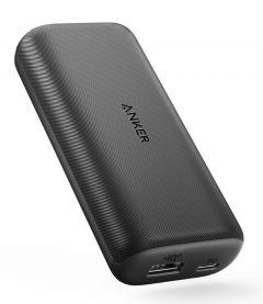 Baterie externa, 10000mAh, conectivitate USB si USB-C, negru, Anker PowerCore