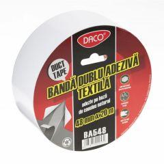 Banda dubluadeziva Duct Tape, textila, 48mm x 20m, Daco
