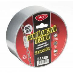 Banda adeziva Duct Tape, textila, 48mm x 30m, Daco