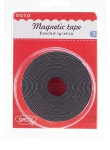 Banda adeziva magnetica, 20mm x 3m, MG103 Daco
