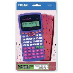 Calculator de birou, stiintific, 10+2dig, albastru, Milan 159110