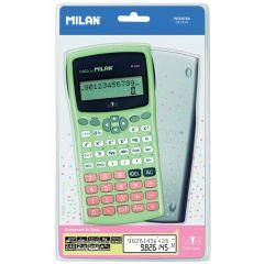 Calculator de birou, stiintific, 10+2dig, verde, Milan 159110