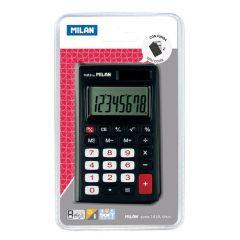 Calculator de birou 8 digit, negru, Milan 150208