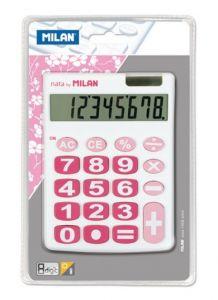 Calculator de birou 8 digit, alb, Milan 708