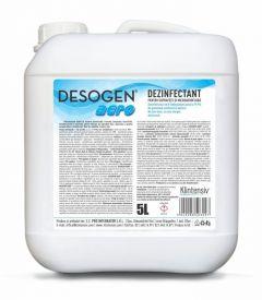 Dezinfectant pentru suprafete si microaeroflora, 5L, Desogen Aero, Klintensiv