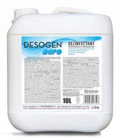 Dezinfectant pentru suprafete si microaeroflora, 10L, Desogen Aero, Klintensiv
