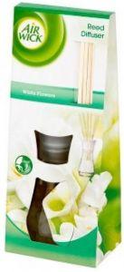 Odorizant cu bete de ratan pentru camera, parfum White Flowers, 25ml, Reed Diffuser Air Wick