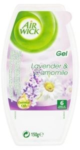 Odorizant gel pentru camera, aroma levantica si musetel, 150g, Air Wick