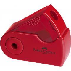 Ascutitoare simpla, rosu/albastru, Sleeve-Mini Faber Castell