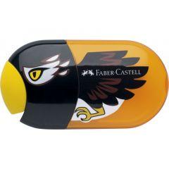 Ascutitoare dubla cu guma Vultur Faber Castell