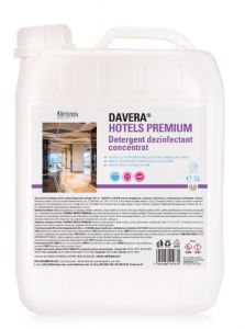 Detergent dezinfectant,concentrat, pentru suprafete, 5l, Davera Hotels Premium, Klintesiv