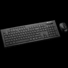 Kit tastatura fara fir si mouse fara fir, CNS-HSETW4-US, CANYON