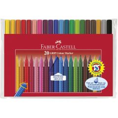 Carioca 20 culori/set Grip Colour Faber Castell