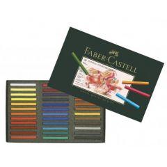 Creioane pastel, 36culori/set, Polychromos Pastels, Faber Castell