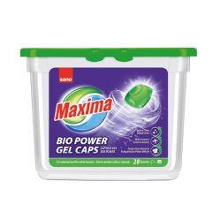 Detergent capsule gel pentru tesaturi, 28buc/cutie, Maxima Gel Bio Sano