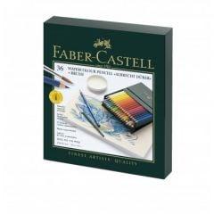 Creioane colorate acuarela, 36culori/set, Studio, A.Durer, Faber Castell-FC117538