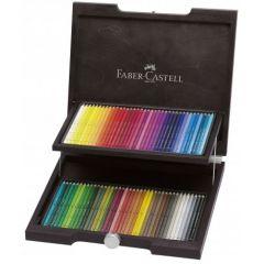 Creioane colorate acuarela, in cutie lemn, 72culori/set, A.Durer, Faber Castell-FC117572