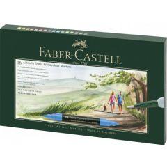 Markere solubile in apa, 16culori/set, in cutie cadou, A.Durer, Faber Castell-FC160318