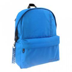 Ghiozdan scolar R-Pet albastru inchis Koh I Noor