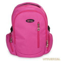 Ghiozdan scolar Basic Pink Koh I Noor