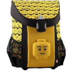 Ghiozdan scolar Easy Core Line, design Minifigures Heads LEGO