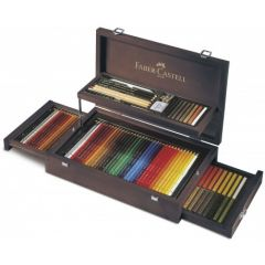 Creioane colorate, in cutie colectie, 126 piese/set, Art&Graphic, Faber Castell-FC110086
