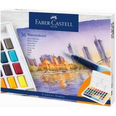 Acuarele pe baza de apa, 36culori/set, Creative Studio, Faber Castell-FC169736