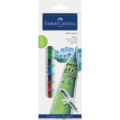 Culori ulei, tub 12ml, 12culori/set, Creative Studio, Faber Castell-FC169502