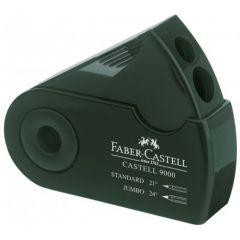 Ascutitoare dubla, verde, Sleeve, Faber Castell