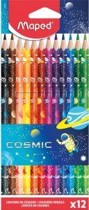 Creioane colorate 12culori/set, Cosmic Maped