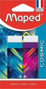 Guma cauciuc sintetic, dust free, 2buc/blister, Cosmic Teens Maped