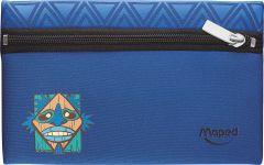 Penar neechipat plat, 1 fermoar, albastru, Totem Maped