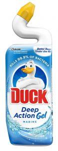 Detergent pentru dezinfectarea toaletei, Marine, 750ml Deep Action Gel Duck