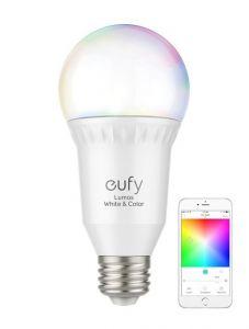 Bec inteligent, RGBW, wifi, E27, Anker Eufy Lumos