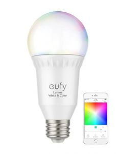 Bec inteligent, RGBW, wi-fi, E27, Anker Eufy Lumos