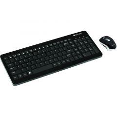 Kit tastatura fara fir si mouse fara fir, CNS-HSETW3-US, Canyon
